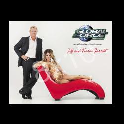 Global Force Wrestling Autographed 8x10- Jeff and Karen