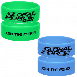 Global Force Wrestling Wristband