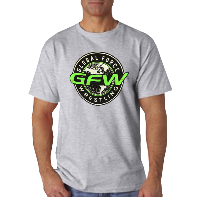 Global Force Wrestling Athletic Heather Tee