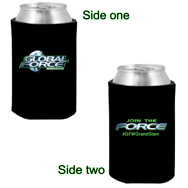 Global Force Wrestling Black Can Coolie
