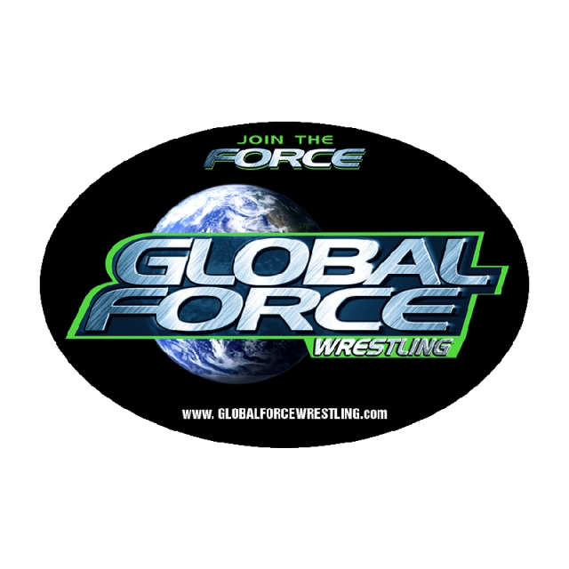 Global Force Wrestling Oval Decal