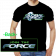 Global Force Wrestling Black Logo Tee