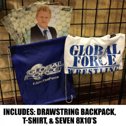 Global Force Wrestling Prize Pack- $70 VALUE