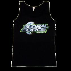 Global Force Wrestling Ladies Black Tank Top