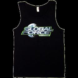Global Force Wrestling Men's Black Tank Top