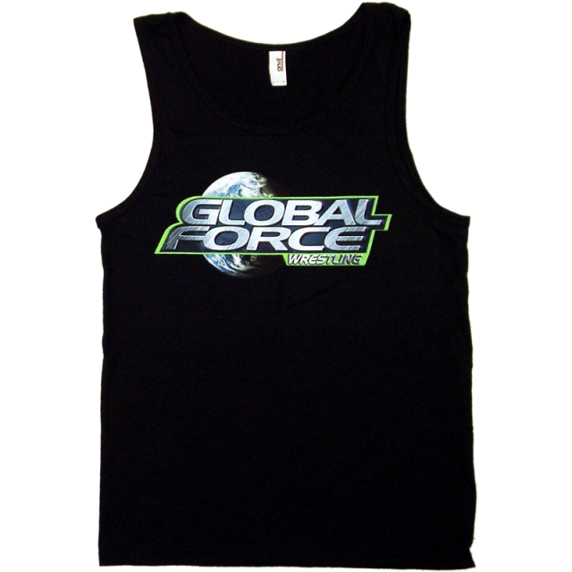 Global Force Wrestling Men's Black Tank Top