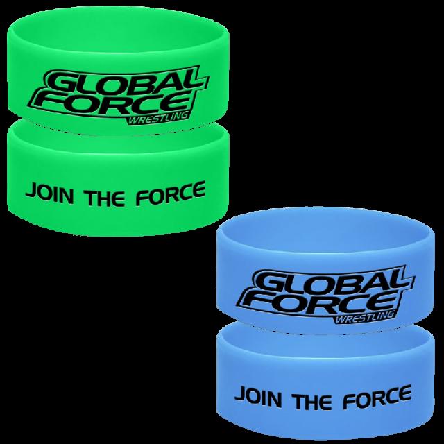 Global Force Wrestling Wristband