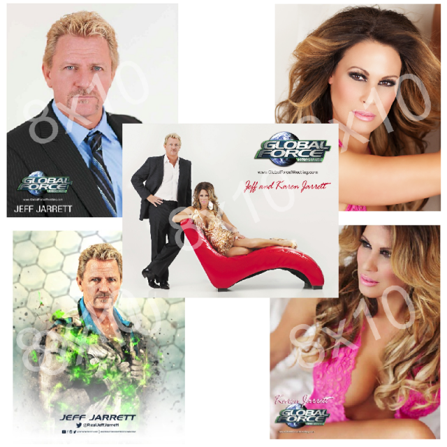 Global Force Wrestling Autographed 8x10 Photo Set!