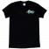 Global Force Wrestling Black Tee- Front Left Chest Logo